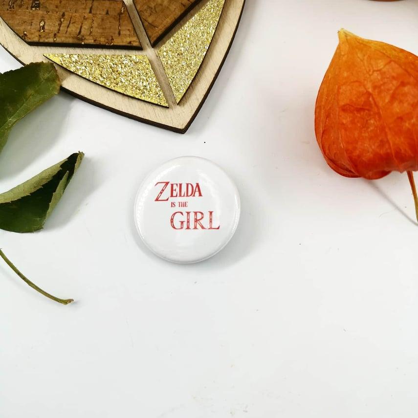 Badge : Zelda, is the Girl