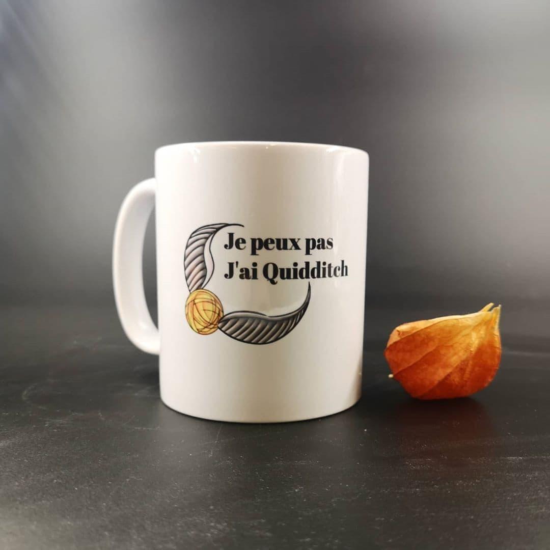 Mug : Je peux pas, j\'ai Quidditch