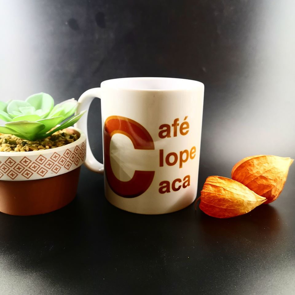 Mug : Café Clope Caca