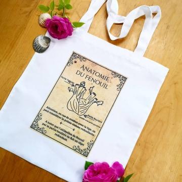 Tote-Bag : L\'anatomie du Fenouil