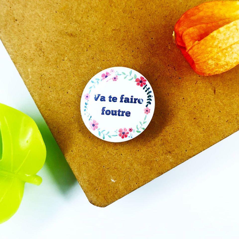 Badge : Va te faire foutre