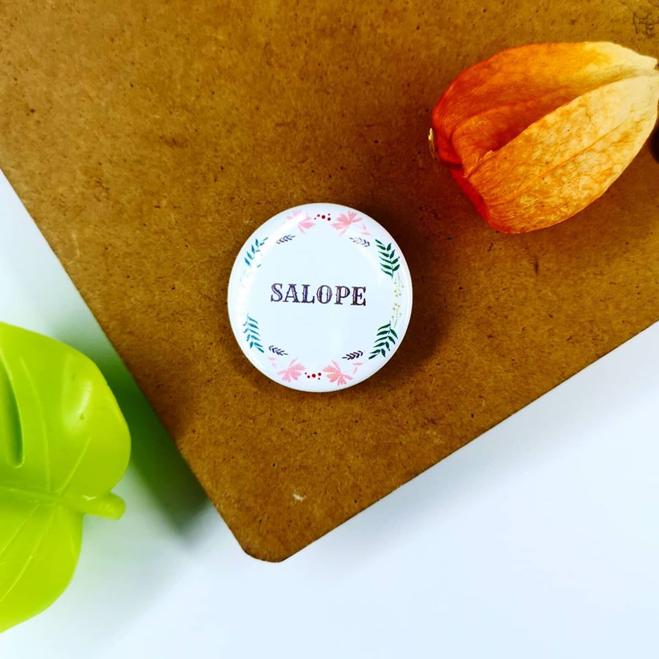 Badge : Salope