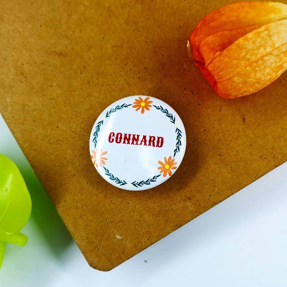 Badge : Connard
