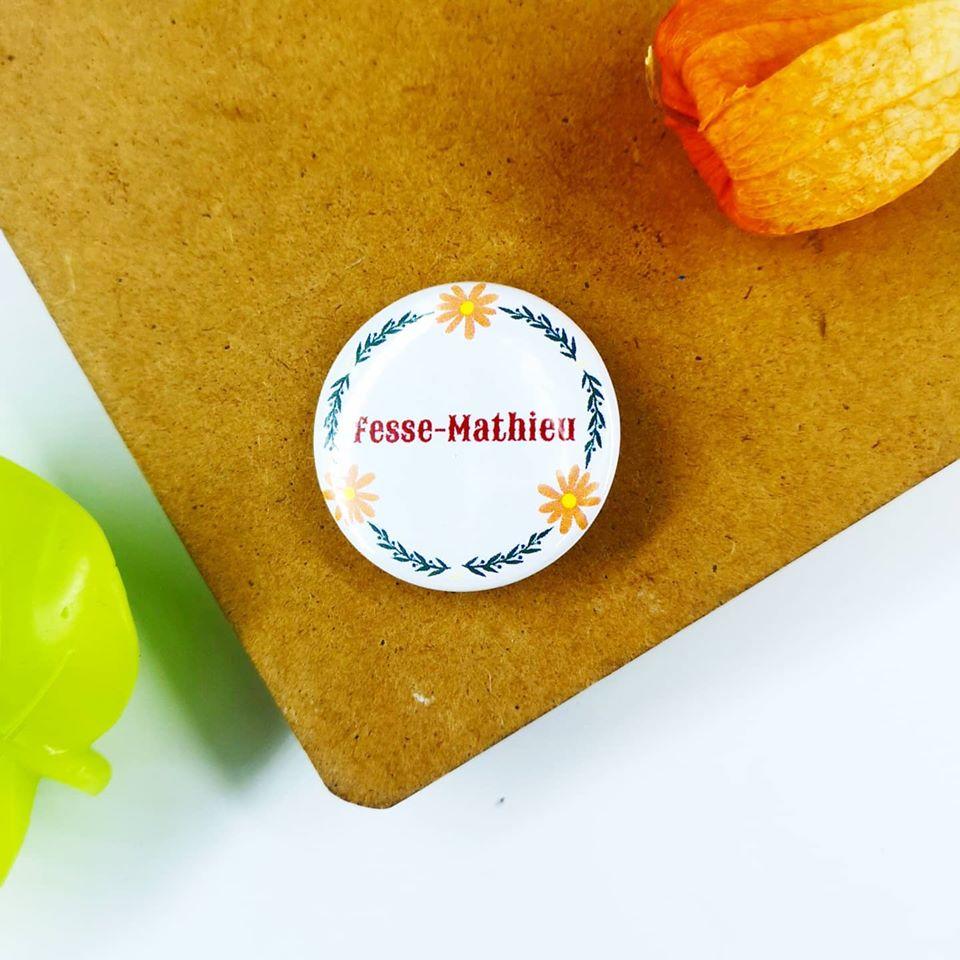 Badge : Fesse-Mathieu