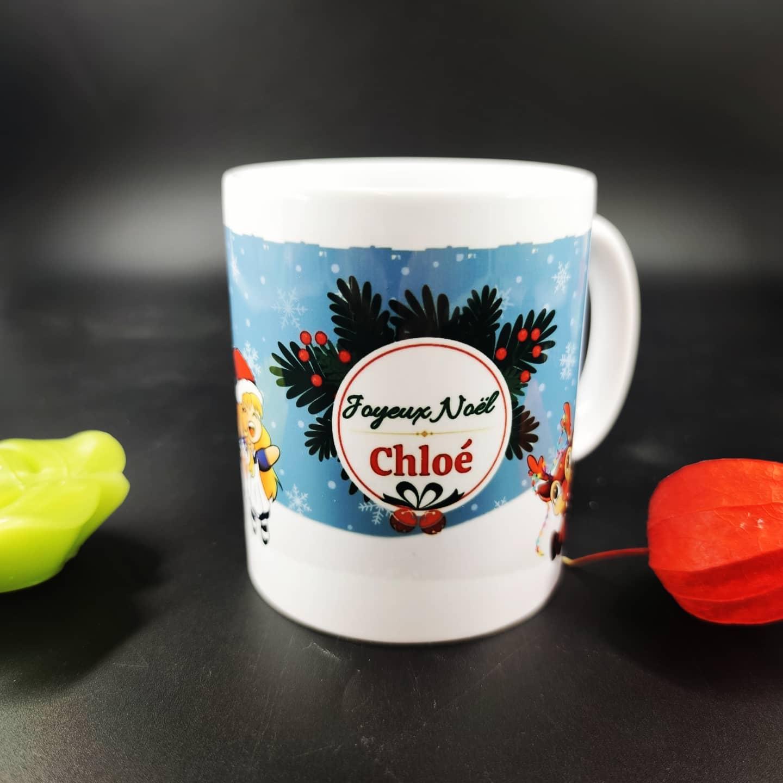 mug de Noël (personnalisable)
