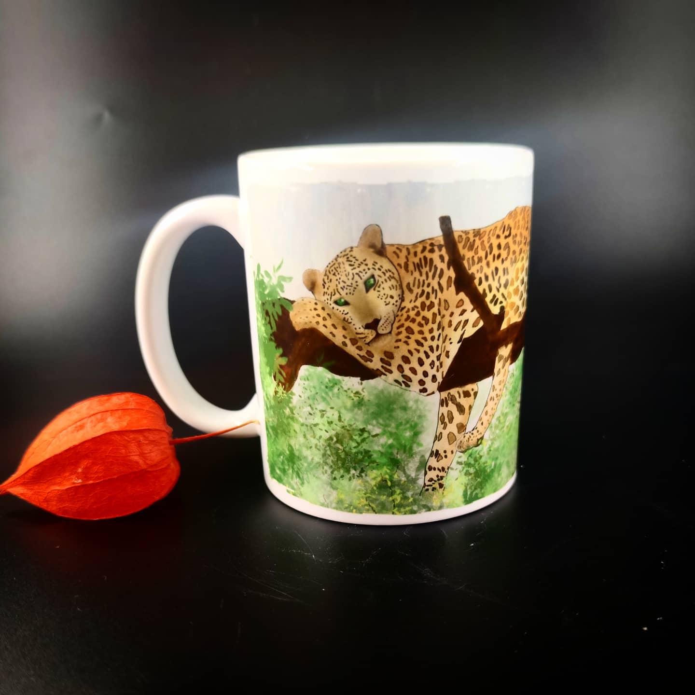 Mug : Léopard