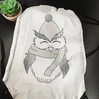 sac à chausson à colorier