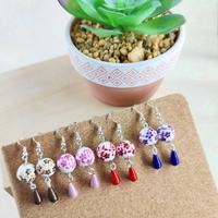 Boucles d'oreilles : jolies fleurs