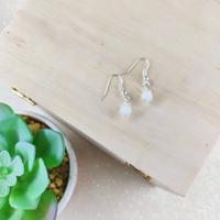 Boucles d'oreilles (jade véritable)
