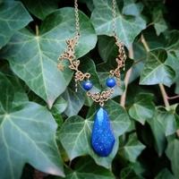 Collier : Elfe Bleue