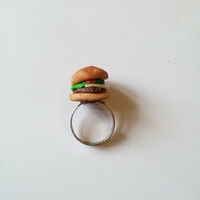 Bague : Hamburger