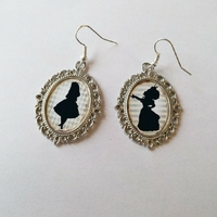 Boucles d'oreilles : Alice