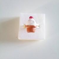 Bague : cupcake