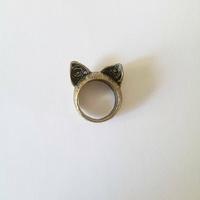 Bague : Oreilles de chat