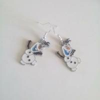 Boucles d'oreilles : Olaf