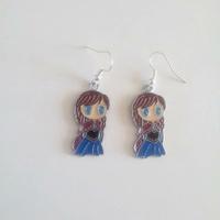Boucles d'oreilles : Anna