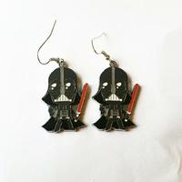 Boucles d'oreilles : Dark Vador
