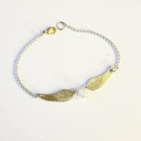Bracelet : vif d'or
