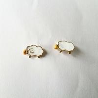 Boucles d'oreilles : mouton