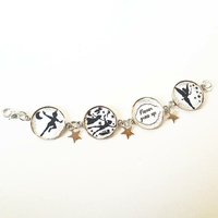 Bracelet : Peter Pan (à personnaliser)