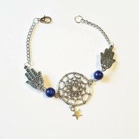 Bracelet : DreamCatcher main de Fatma