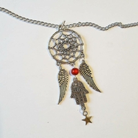 Collier : Dreamcatcher Main de Fatma