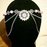 Headband médiéval fantastique : Princesse Aïla