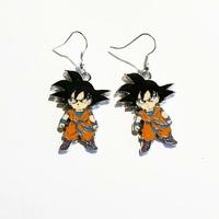 Boucles d'oreilles : Goku