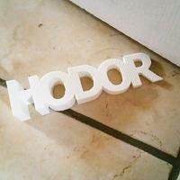 Cale-porte : Hodor