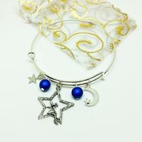 ★ Bracelet Breloque ★ Petite fée des étoiles
