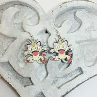 Boucles d'oreilles : Miaouss