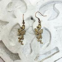 Boucles d'oreilles : Dragon