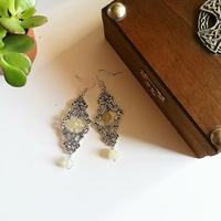 ☆ Boucles d'oreilles elfique ☆ Princesse de Jade