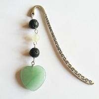 Marque-page : Cœur de Jade