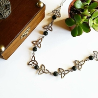 ☆ Collier Celtique ☆ Reine des Dragons