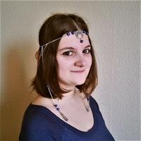 Headband médiéval fantastique : Princesse Azilis