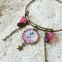 Bracelet : Buste ailé