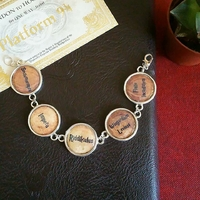 Bracelet : Sortilèges (Harry Potter) a personnaliser