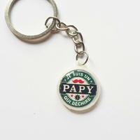 Porte-clés : Papy qui déchire.