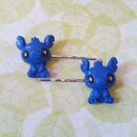 Barrettes : Stitch