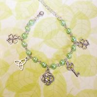 bracelet : porte bonheur irlandais