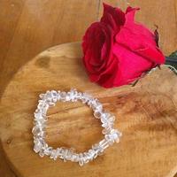 Bracelet : Cristal de Roche