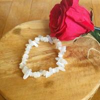 Bracelet : pierre de lune véritable