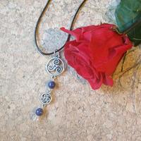 Collier : Delyth (Lapis Lazuli Véritable)