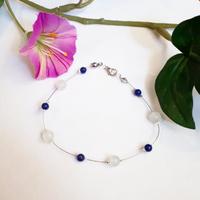 Bracelet : Glwadys (Lapis Lazuli et Jade)