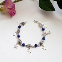 Bracelet : Aëlig (Lapis Lazuli)