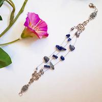 Bracelet : Annaïg (Lapis Lazuli)