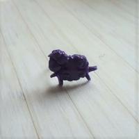 Bague : Mouton (Violet)