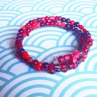 Bracelet : Rouge