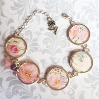 Bracelet : jolie rose